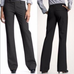 GAP modern boot stretch black trouser pants